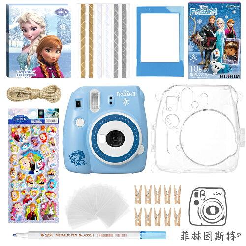 Fujifilm mini9 冰雪奇緣拍立得組