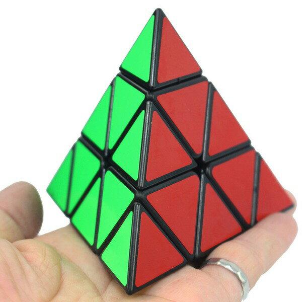 三角形魔術方塊 功夫雞 三角形魔方 / 一個入(定80) 8105 等邊10cm正三角形4面 -XF6124 1