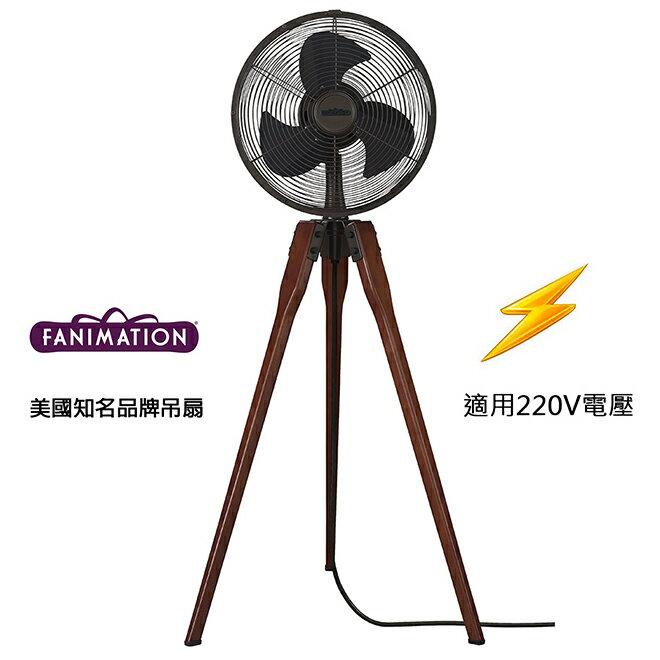 [top fan] Fanimation Arden 14.53英吋立扇(FP8014OB-220)油銅色