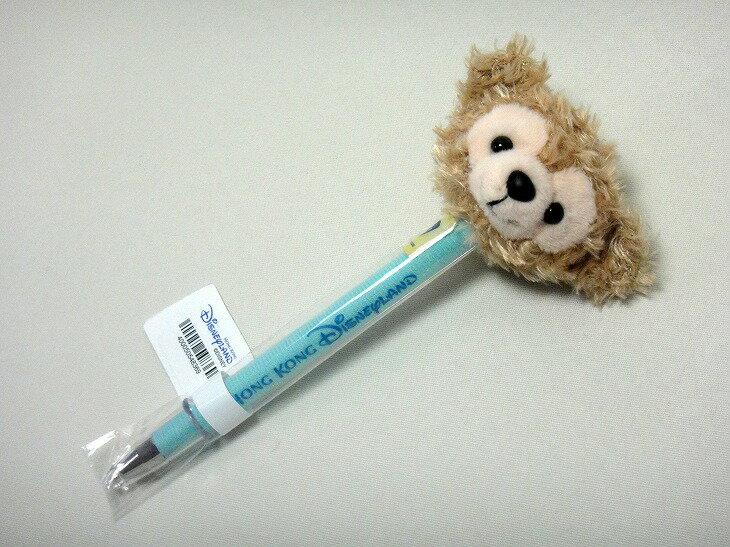 X射線【C010001】香港迪士尼樂園代購- 達菲Duffy 絨毛原子筆,多色筆/多用筆/油性筆/螢光筆/油漆筆