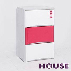 【nicegoods】福氣高昇三層收納置物櫃(40L*3層)(收納櫃 抽屜櫃 衣櫃 塑膠 整理箱)