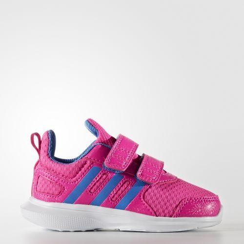 Adidas Hyperfast 2.0 CF 女童 慢跑鞋 玫瑰粉 藍白【運動世界】 AQ3843