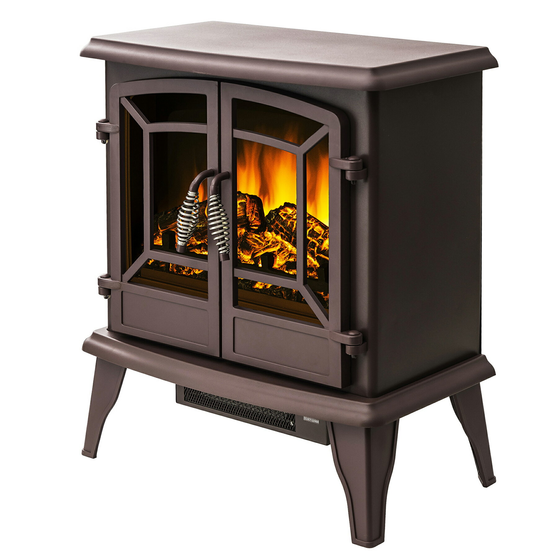 "AKDY 20"" Portable Freestanding Electric Fireplace Stove Heater 4"