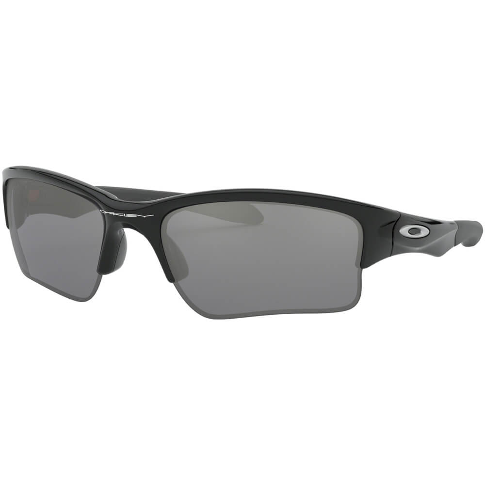 0bec1ba89a Oakley Quarter Jacket Sunglasses Youth Fit - Polished Black Black Iridium 0