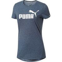 PUMA運動品牌推薦PUMA運動鞋/慢跑鞋/外套推薦到Puma NO.1 LOGO 女裝 上衣 短袖 休閒 短TEE 灰藍 【運動世界】 59299250