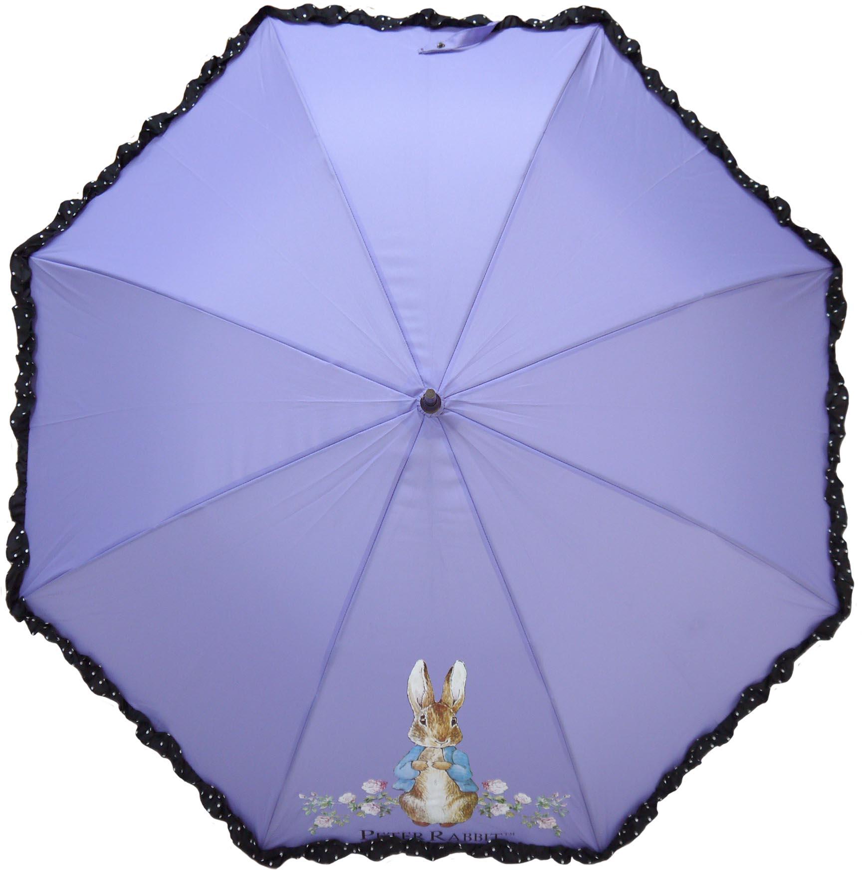 《Annie's Friends》Peter Rabbit 比得兔防曬直傘【尊貴紫玫瑰兔】