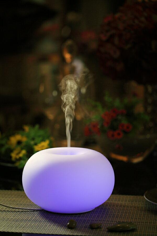 karoli香氛水氧機+精油10ml*5瓶 全玻璃外罩 A3