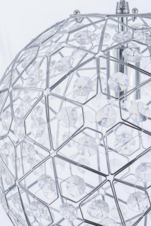 圓形幾何圖案壓克力吊燈-BNL00069 4