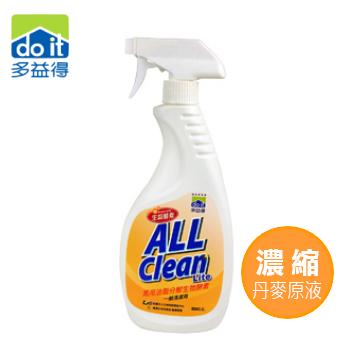 多益得ALLClean萬用油脂分解生物酵素Lite(500ml)AC015T大掃除除舊布新清潔廚房清潔
