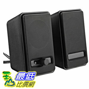 <br/><br/>  [106美國直購] AmazonBasics 音箱 USB Powered Computer Speakers (A100)<br/><br/>