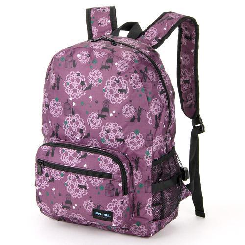 【百倉日本舖】日本進口HAPI+TAS折疊式後背包 旅行折疊背包 可套行李箱拉桿