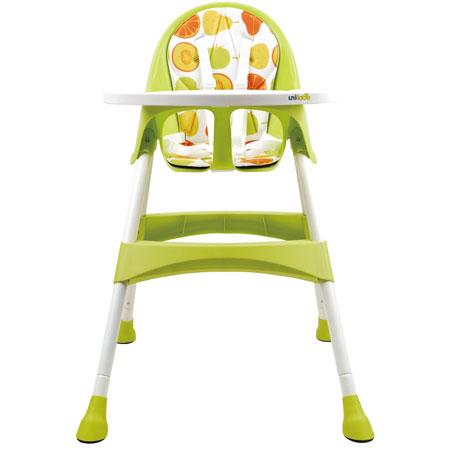 【悅兒園婦幼生活?】英國 unilove 兒童高腳餐椅 Hoja-Limeade 檸檬綠