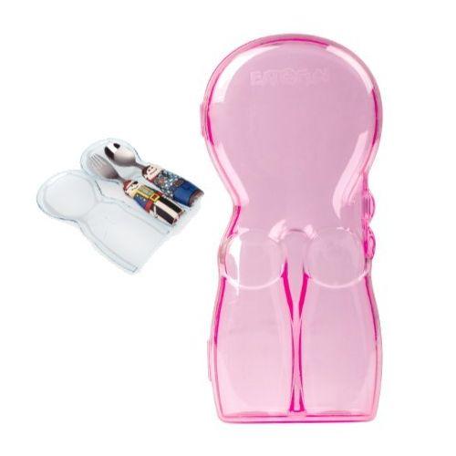 小小家 EAT 4 FUN 餐具外出攜帶盒(商品不含湯匙、叉子)(顏色隨機出貨)★衛立兒生活館★ 2