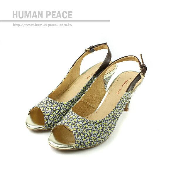 HUMAN PEACE 高跟鞋 黃色 女鞋 no374