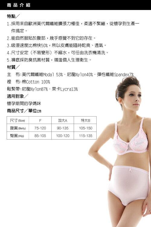 六甲村 - 高彈性孕婦褲 (柔軟膚) 3
