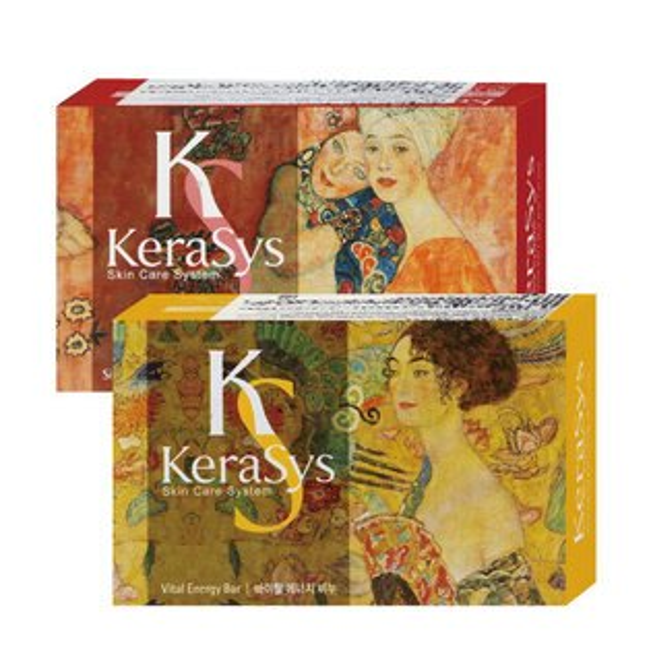 韓國Kerasys可瑞絲曠世名畫精油香皂100g【櫻桃飾品】【27190】