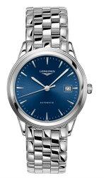 LONGINES L49744926旗艦典雅經典腕錶/藍面38.5mm