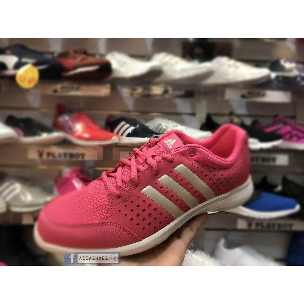 超取499免運 |[ASIASHOES]降價出清ADIDAS Arianna Shoes 透氣 慢跑鞋 粉 B40572