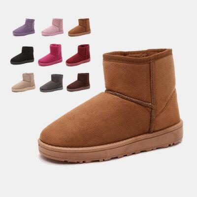 LINAGI里奈子 ~K868~61~75~簡單可愛防滑耐磨舒適百搭保暖短雪靴 多色款