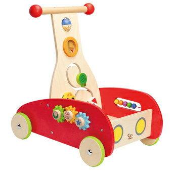 【免運費】《 德國 Hape 愛傑卡》多功能學步車