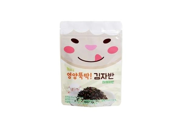 【Evertto】愛兒多動物森林寶貝羊野菜海苔酥(25g)幼兒兒童拌飯拌麵香鬆調味品