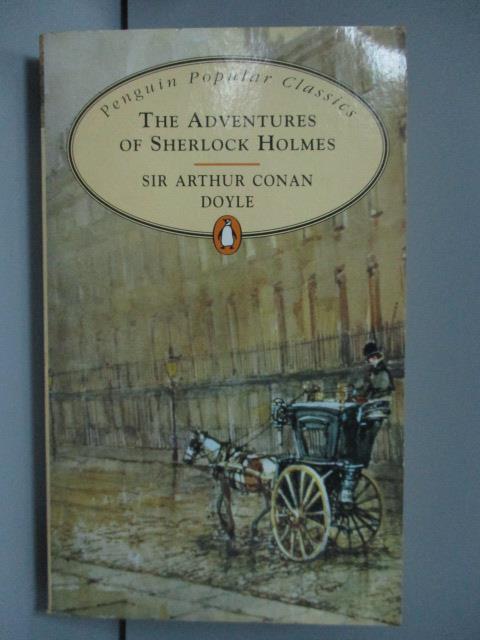 【書寶二手書T1/原文小說_LNY】The Adventures of Sherlock Holmes _DOYLE