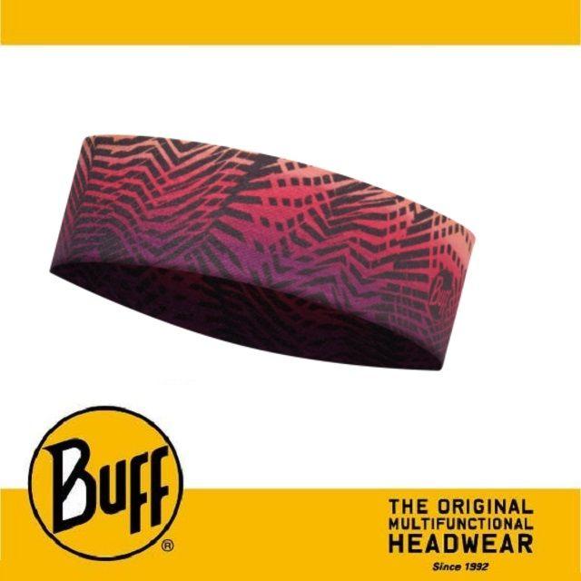 ├登山樂┤西班牙 BUFF 紫黃折線 Coolmax 抗UV Slim頭巾 # BF113657-555