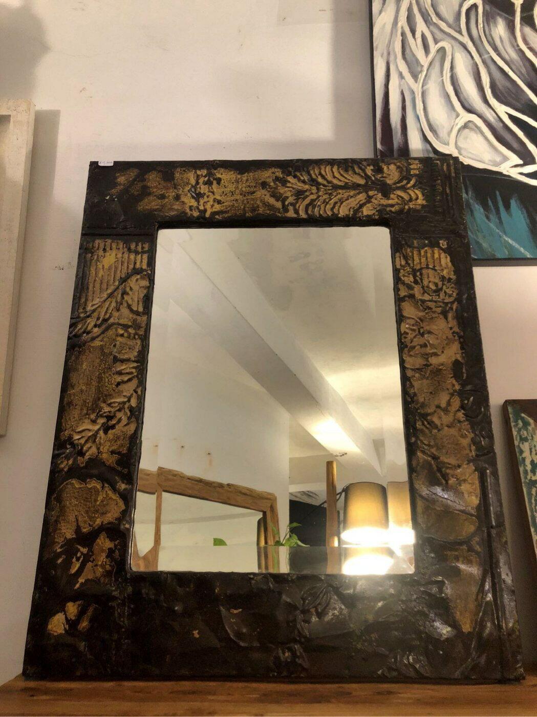 鐵製掛鏡 (L75.2 W60 H2 cm)