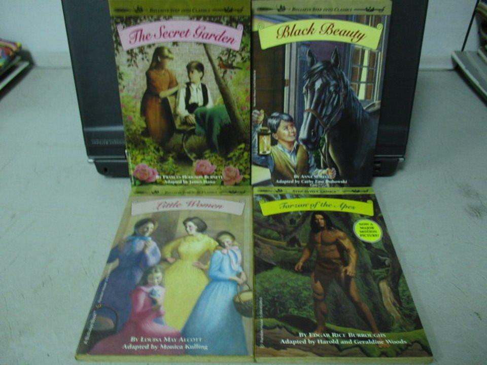 【書寶二手書T6/原文小說_NAZ】Little women_The secret garden等_共4本合售