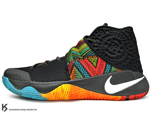 2016 Kyrie Irving 最新代言鞋款 NIKE KYRIE 2 II BHM EP BLACK HISTORY MONTH 黑彩虹 POWER OF ONE 馬丁路德·金恩 圖騰 原住民 黏扣帶 HYPERFUSE 鞋面 後 ZOOM AIR 氣墊 UNCLE DREW (828376-099) !