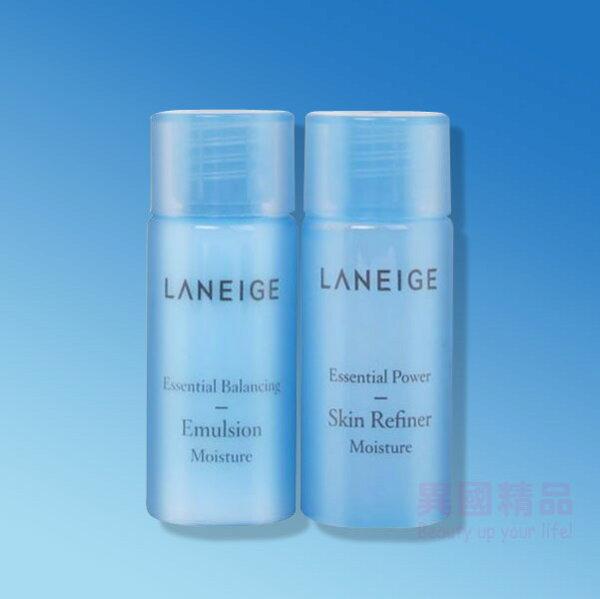 韓國蘭芝Laneige基礎保養2件旅行組25ml*2(化妝水+乳液)【特價】§異國精品§