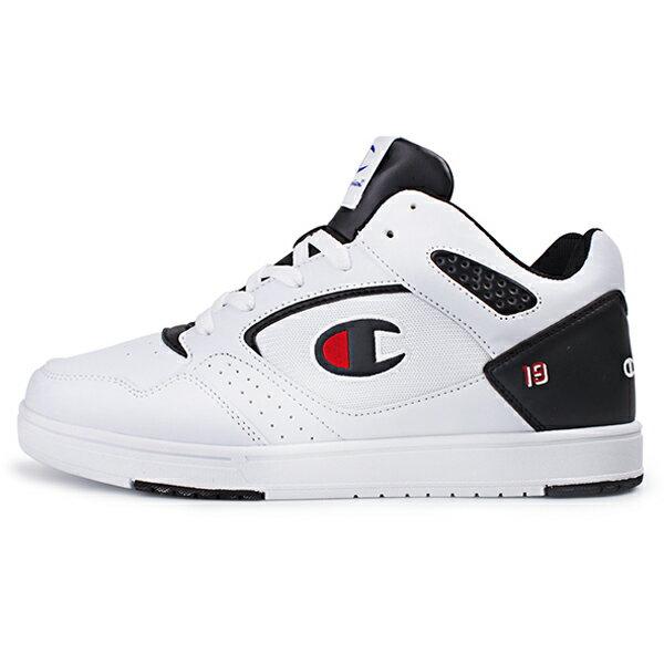 Shoestw【911210101】【911220101】Champion BKBI 復古 休閒鞋 板鞋 皮革 白黑 男女尺寸 情侶款 0