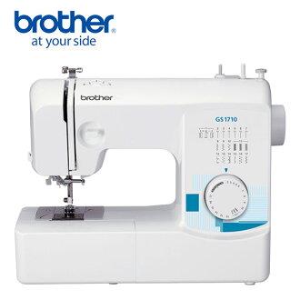 【日本 brother】實用型縫紉機 GS-1710 ◤贈送縫紉初級課程抵用卷◢
