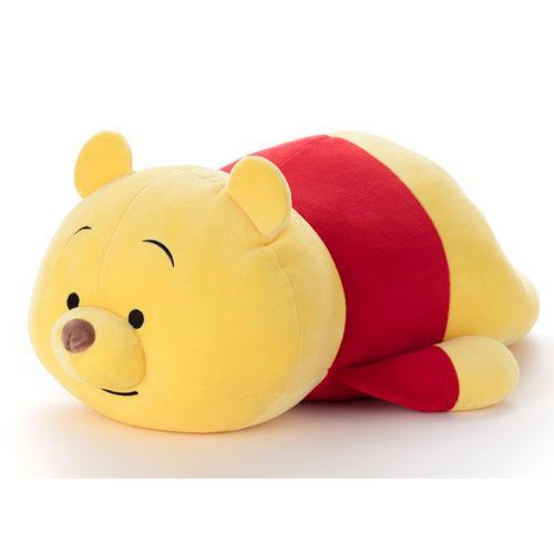 <br/><br/>  日本代購預購 迪士尼 小熊維尼 維尼熊 趴姿勢 mocchi-mocchi M號 娃娃玩偶抱枕 794-135<br/><br/>
