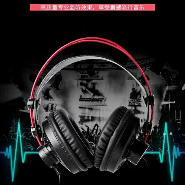 【k歌專屬】ISK HP-580高音質專業頭戴式重低音dj監聽耳機電吉他yy主播專用