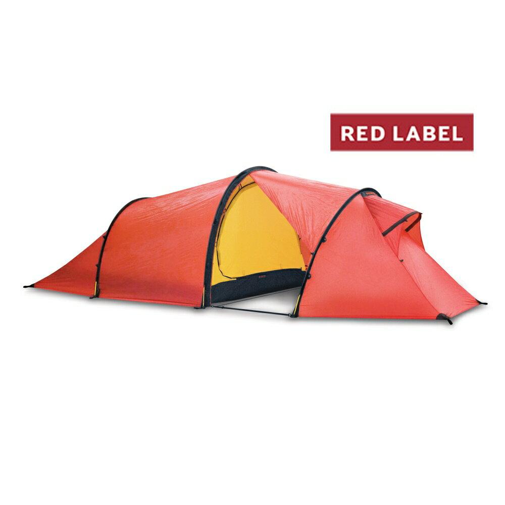 ~登山樂~瑞典HILLEBERG 紅標 NALLO 3 GT 納洛 輕量三人帳篷 紅^#0
