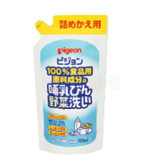 貝親奶瓶清潔劑補充包700ml【六甲媽咪】