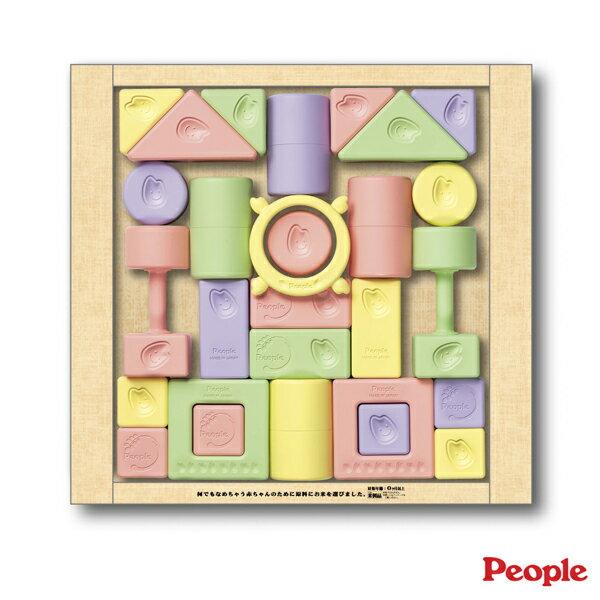 廠商降價了!】唯可People米製品系列-彩色米的積木組合2496元