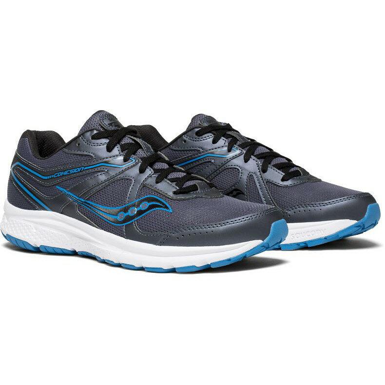 Saucony 18SS 入門款 緩衝型 男慢跑鞋 COHESION 11系列 S20420-2 贈MIT運動襪【樂買網】