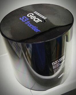 【铁乐疯3C 】(展翔) SAMSUNG GEAR S3 ----SM-R760智慧穿戴装置手表,表带: (橡胶/皮革)