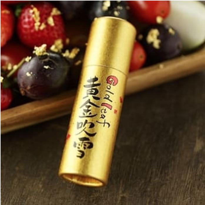 日本金澤 金箔屋 黃金吹雪(食用金箔)日本直送 日本百年老店人氣第一 0