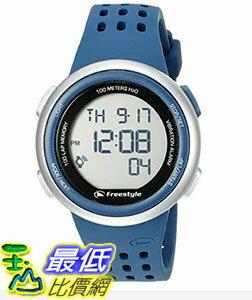 [106美國直購] Freestyle 手錶 Unisex 10019176 B00TYE8V0O FX Trainer Digital Display Japanese Quartz Blue Watch