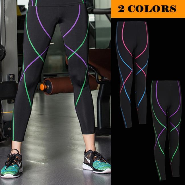 50%OFF SHOP【AD021916P】壓縮褲緊身彈力速乾運動褲顯瘦瑜伽舞蹈訓練健身褲