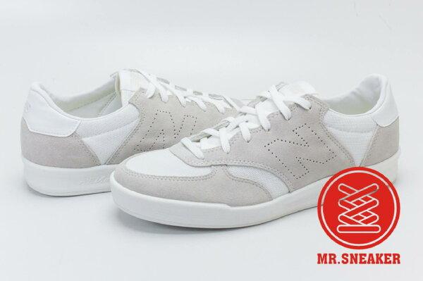 ☆Mr.Sneaker☆NEWBALANCECRT300FF白灰復古鞋網球鞋輕量化REVLITE中底男鞋