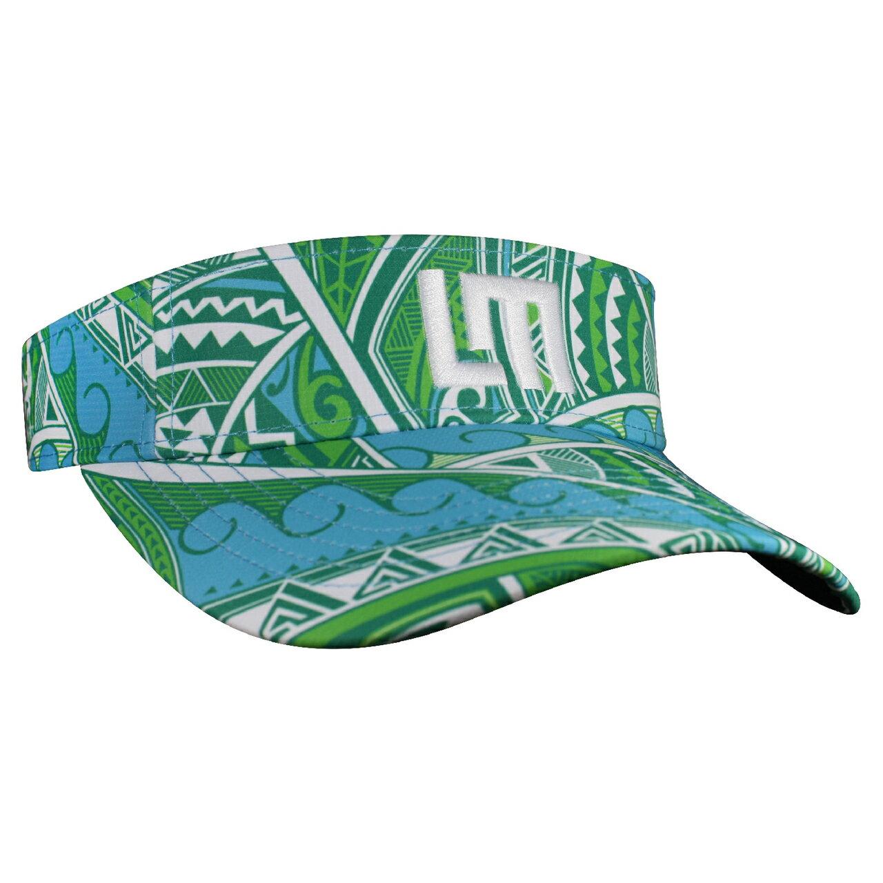 LOUDMOUTH 英國高爾夫服飾品牌-TATU藍綠中空帽