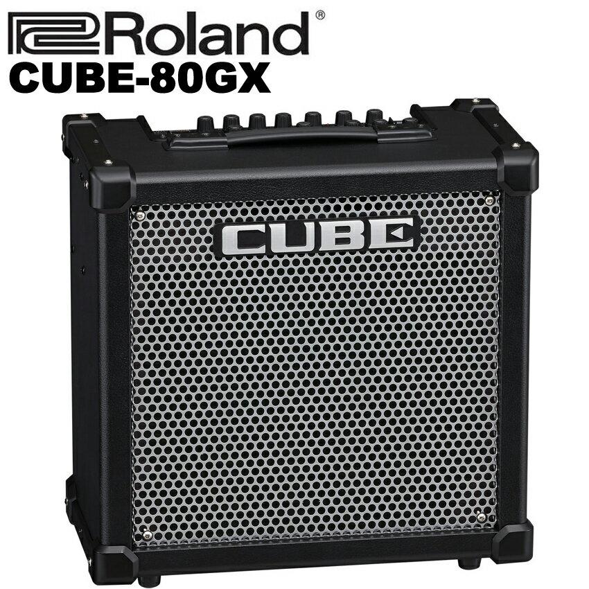 【非凡樂器】Roland CUBE-80GX(Cube 80GX)電吉他音箱/內建破音/可連接iphone/原廠公司貨