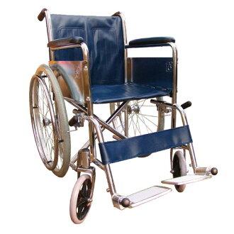 【醫康生活家】杏華 鐵製電鍍輪椅 CP