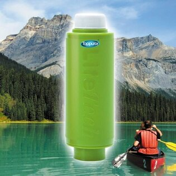 3699shop:泰浦樂Toppuror口袋型戶外淨水器