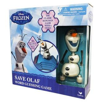 冰雪奇緣雪寶遊戲組/ Olaf Build a Snowman Hangman/ 桌遊/ 冰雪奇緣/ 猜字/ 伯寶行