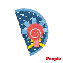 【淘氣寶寶*people 系列滿499,加贈多功能可愛造型固定夾】日本 People 口水防污安撫套(糖果)